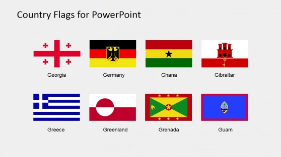 Vector Flag Icons for PowerPoint