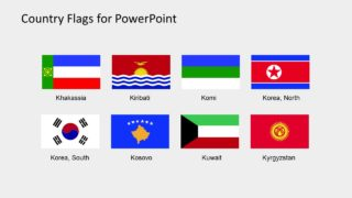Editable PowerPoint Flag Icons