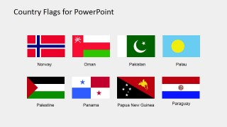 Presentation of Clipart Flags