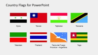 Clipart Flags for PowerPoint (S to Z)