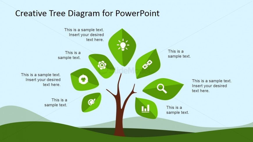 tree plant clipart for powerpoint with icons slidemodel. Black Bedroom Furniture Sets. Home Design Ideas