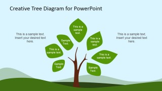 Eco-Friendly Tree Clipart for PowerPoint