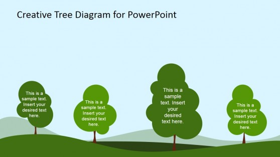 Forest Illustration for PowerPoint