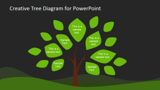 Creative tree diagram powerpoint template slidemodel this is a tree diagram powerpoint template design that you can download and use to make presentations in powerpoint this creative tree diagram design has a ccuart Choice Image