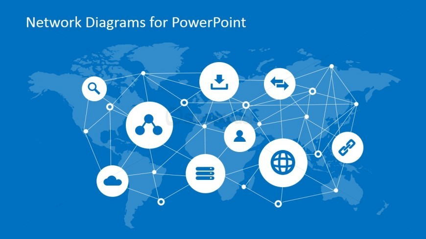 Global Connectivity Slide Design for PowerPoint