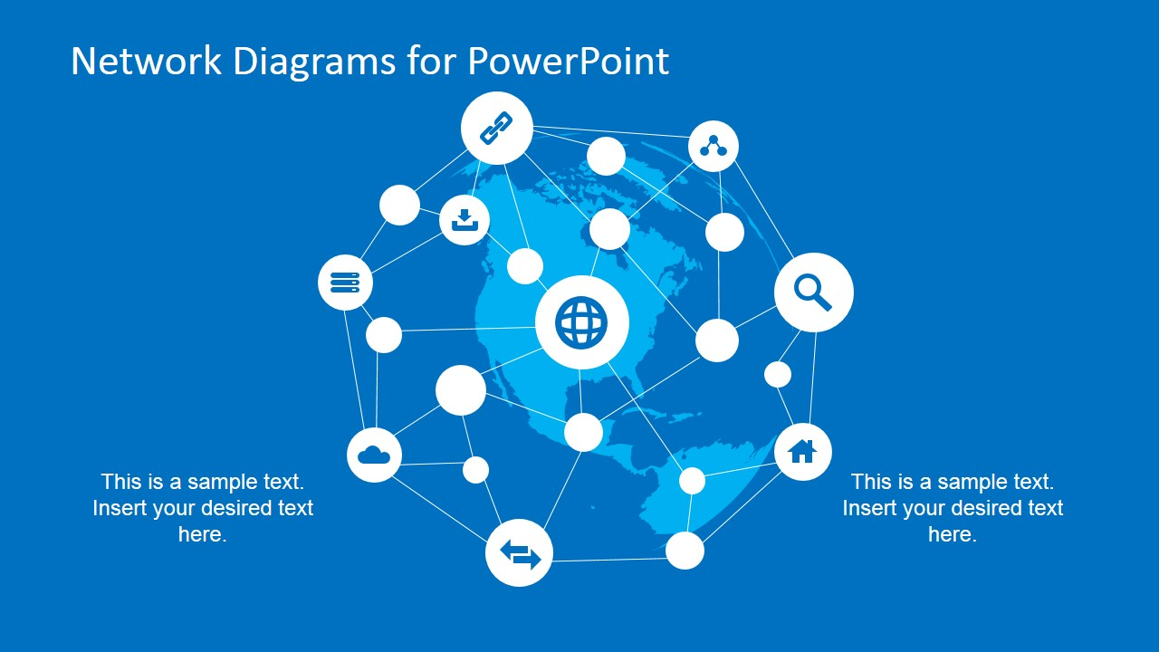 Network Diagram Design for PowerPoint