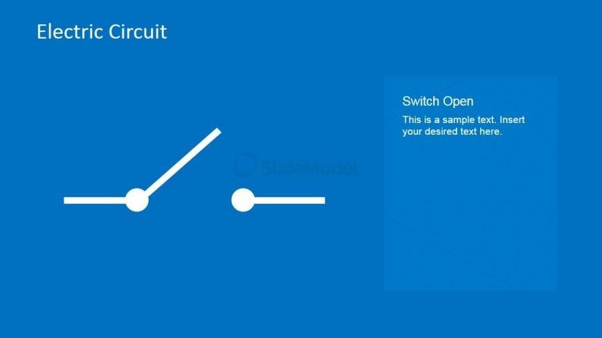 Switch Open PowerPoint Template - SlideModel