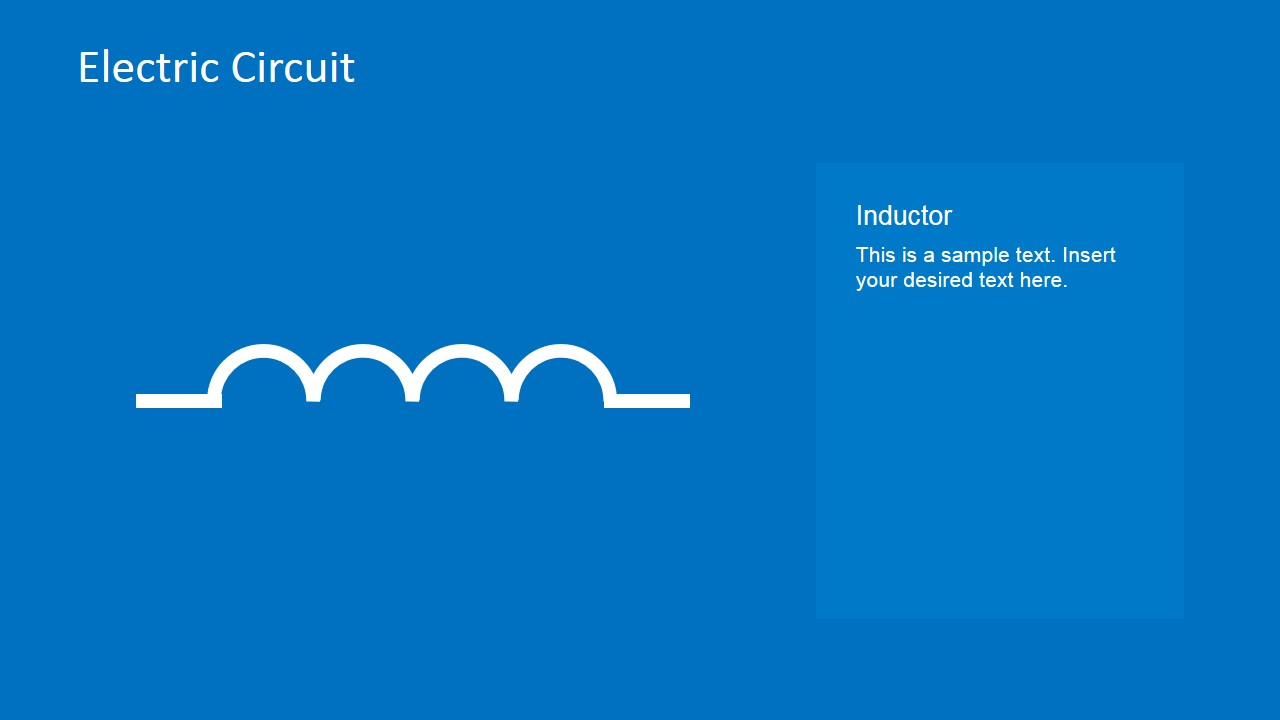 Inductor PowerPoint Template