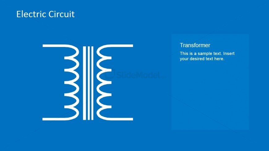 Circuit Transformer Powerpoint Slide Slidemodel