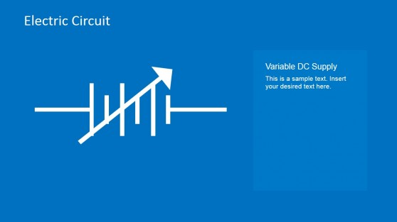 Variable DC Supply PowerPoint Template