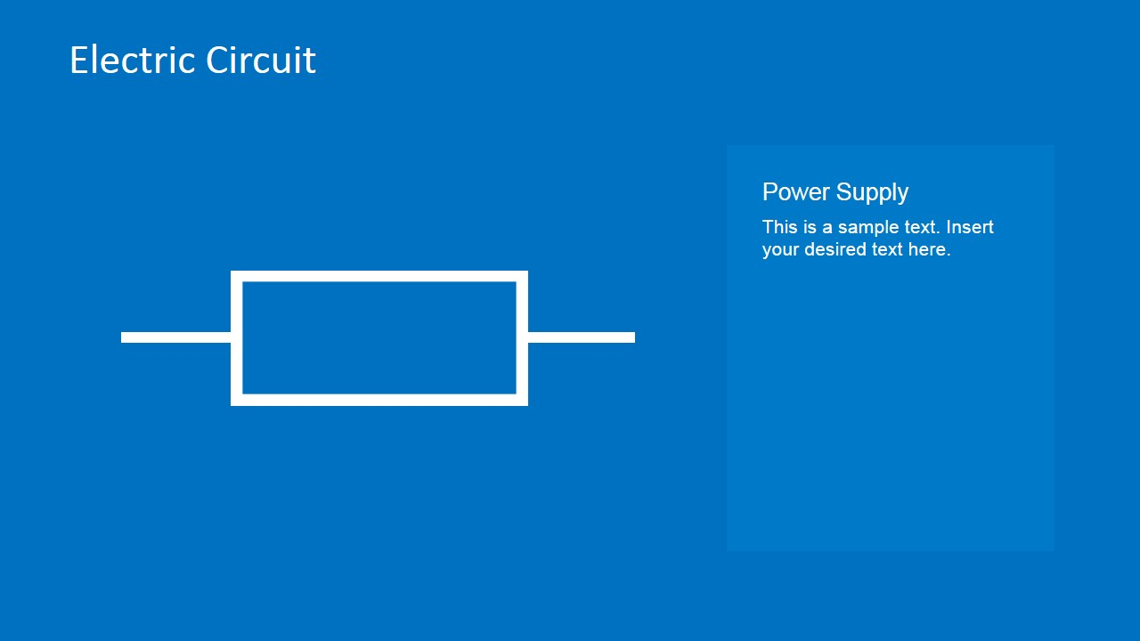 Electric Circuit Symbols Element Set for PowerPoint - SlideModel