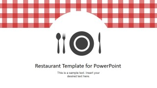 Restaurant menu powerpoint template slidemodel restaurant menu powerpoint template is a simple presentation template design that you can use to make a presentation for a restaurant or as a restaurant toneelgroepblik Images