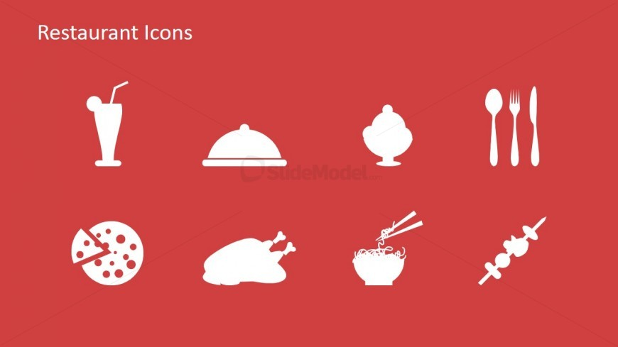 Restaurant icon clipart for powerpoint slidemodel