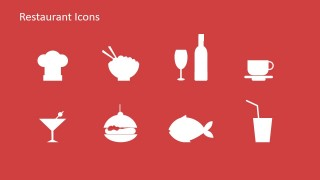 Collection of Food Icons for PowerPoint