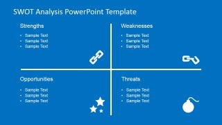 SWOT Analysis PowerPoint Chart