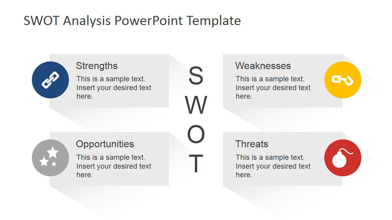animated swot analysis powerpoint template