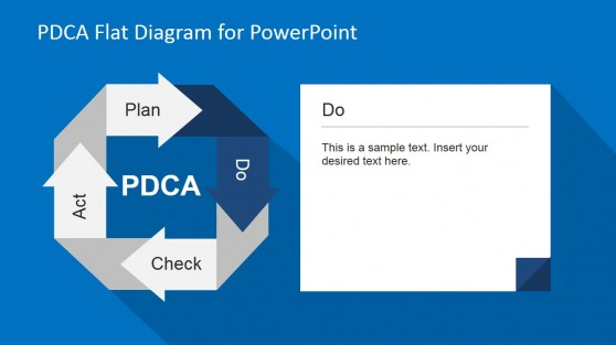 Doing Phase PDCA PowerPoint Diagram
