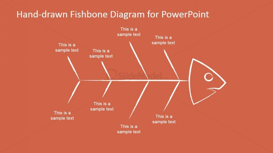 Fishbone diagram template slidemodel fishbone diagram template ccuart