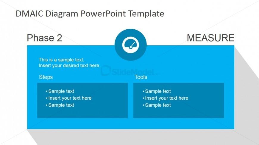 DMAIC Measure Slide Design for PowerPoint
