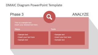 DMAIC Analyze Slide Design for PowerPoint