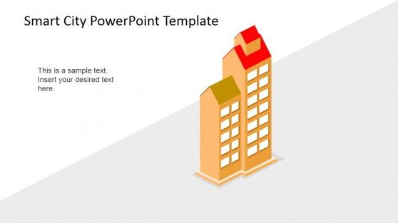 Smart Apartments Concept 3D Shapes