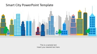 PowerPoint Shapes of Smart Cities