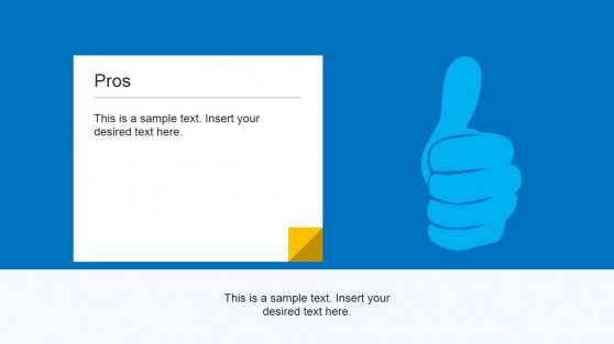 Thumbs Up Illustration for PowerPoint