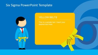 Yellow Belt Training PowerPoint Slide