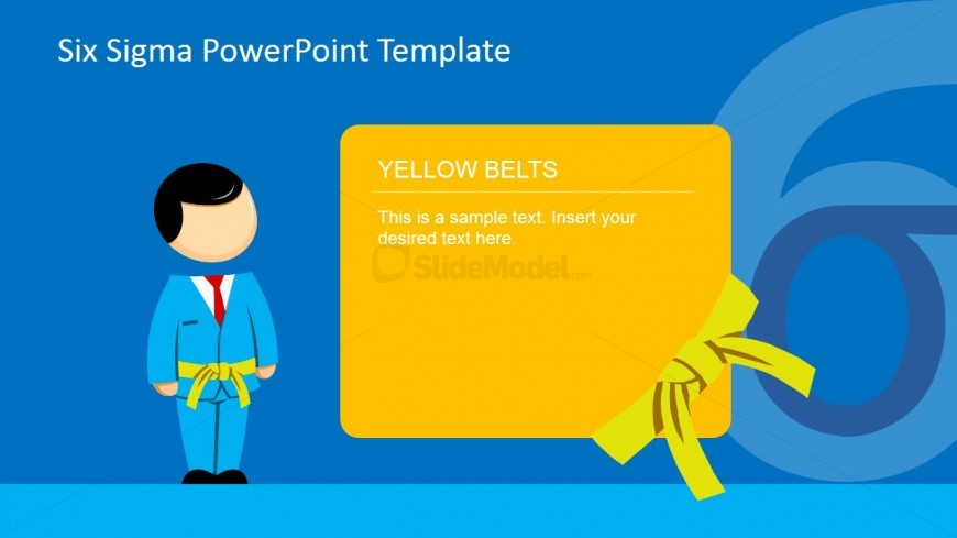 six sigma yellow belt powerpoint presentation slidemodel