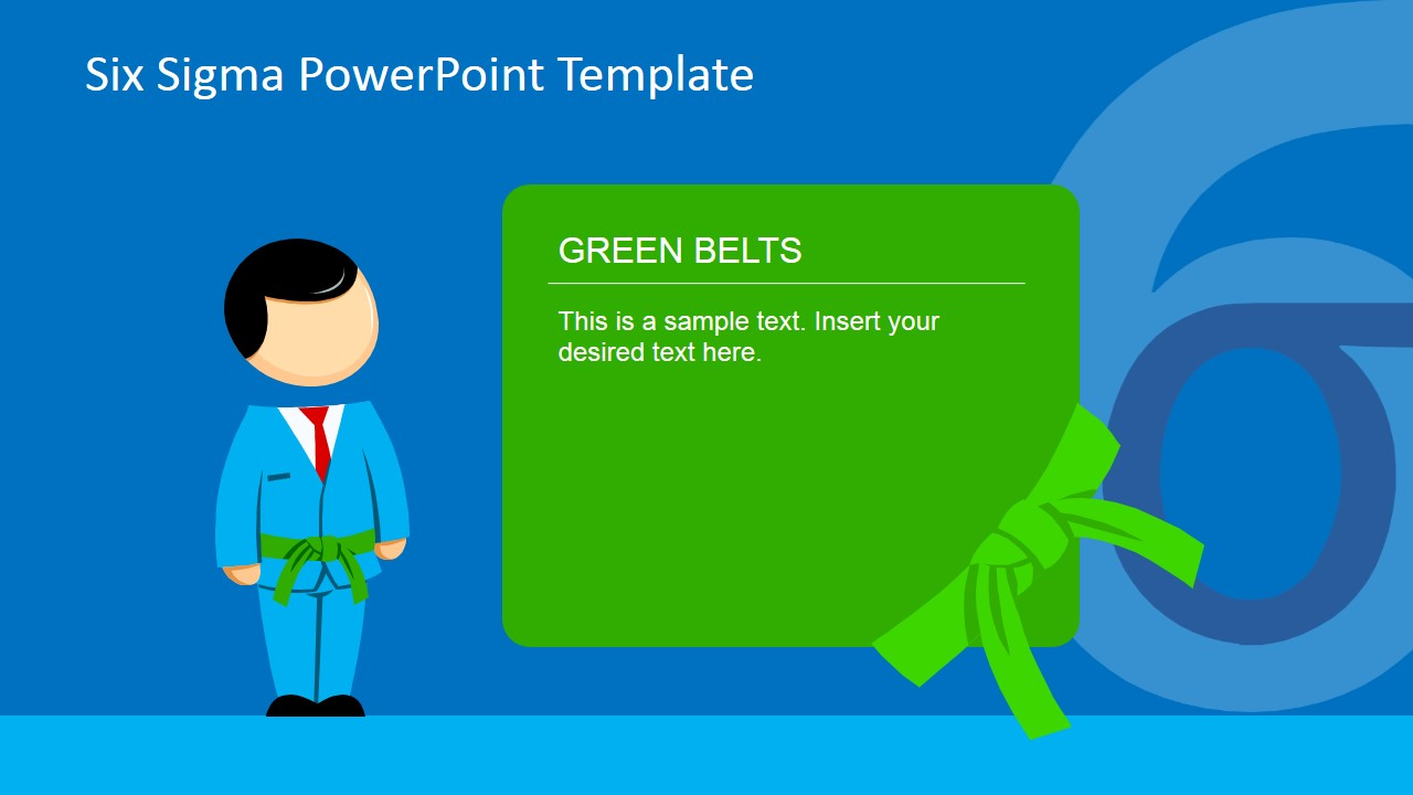 six sigma belts powerpoint template - slidemodel, Presentation templates