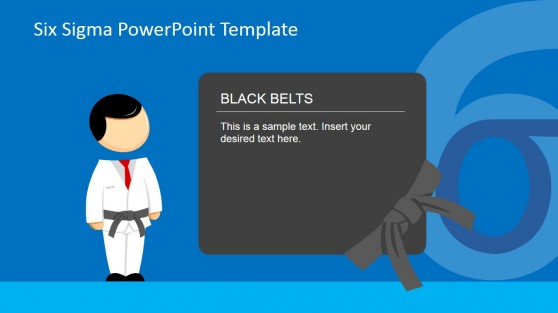 Black Belt Roles and Responsibilities PowerPoint Presentation