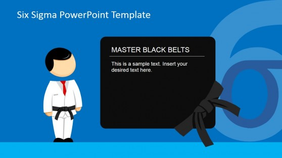 Master Black Belt Roles PowerPoint Slide