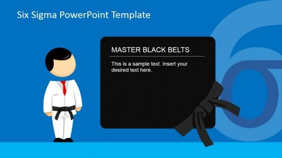 Master Black Belt Roles PowerPoint Slide