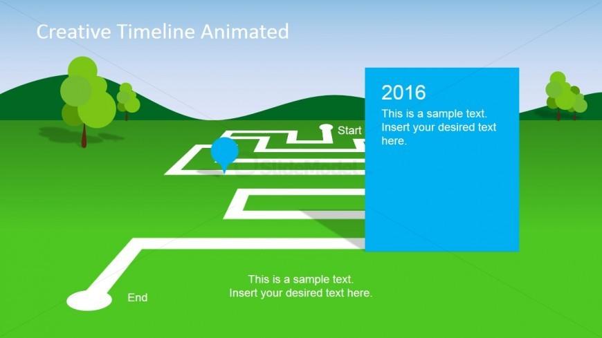 Timeline Slide for PowerPoint