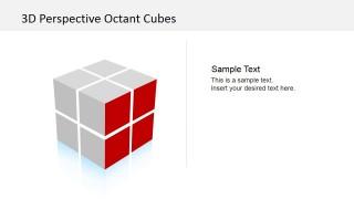 Cube Dimension PowerPoint Slide