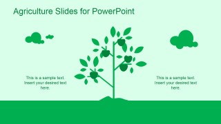 Green agriculture template for powerpoint slidemodel green agriculture template for powerpoint is a ppt template for microsoft powerpoint that you can download and use to make presentations on agriculture and toneelgroepblik Gallery