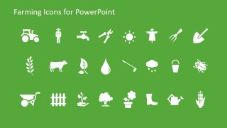 Farming icons for powerpoint slidemodel farming icons for powerpoint is a presentation template containing useful farming icons that you can use to make presentations on agriculture toneelgroepblik Image collections