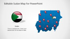 Sudan Map PowerPoint Template