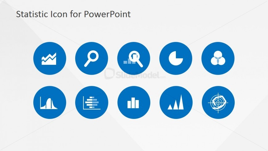 Statistics Clipart PowerPoint Template