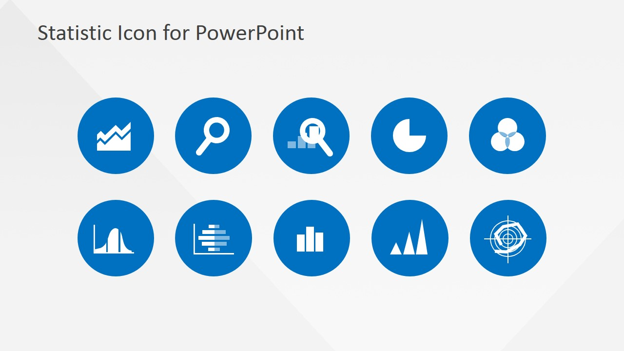powerpoint statistical analysis icons template slidemodel