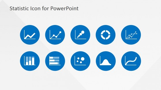 PowerPoint Statistical Analysis Icons Template