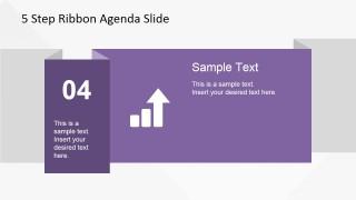 04 Ribbon Slide Design for PowerPoint