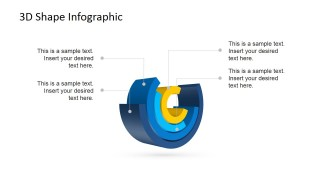 3D PowerPoint Shapes Creating a Layered Cylinder