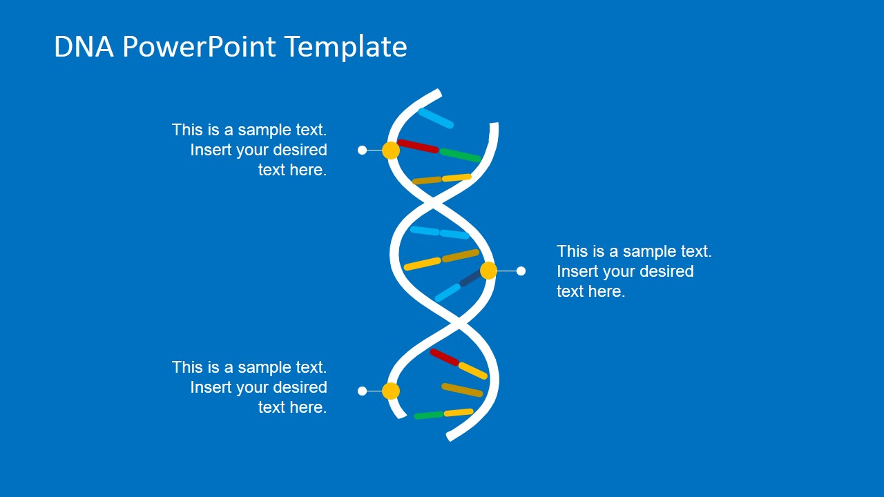 Picture Of Dna For Powerpoint Slidemodel