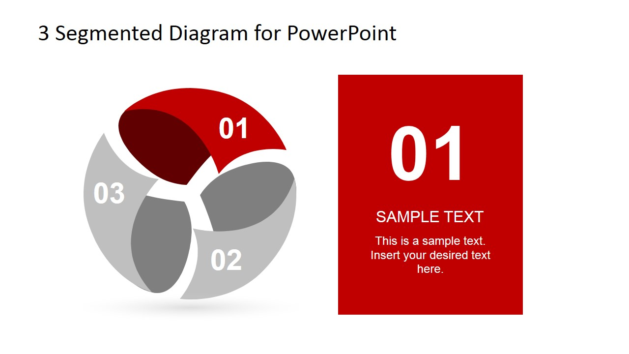 Spherical Diagram Design for PowerPoint Step 1