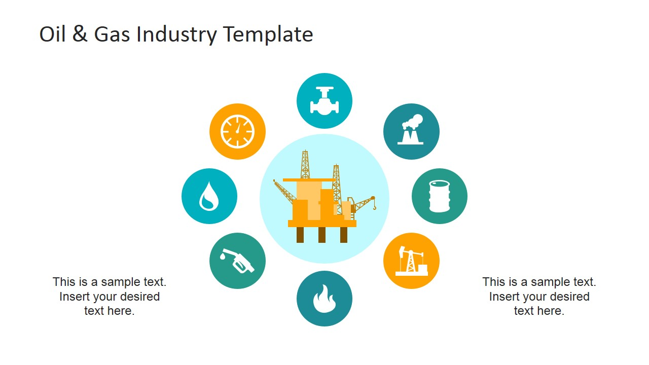 Oil gas industry powerpoint template slidemodel powerpoint clipart of oil and gas industry value chain toneelgroepblik Images