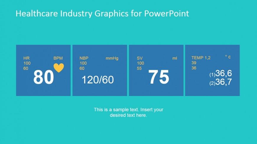 PowerPoint Slide Design of Heart Monitor