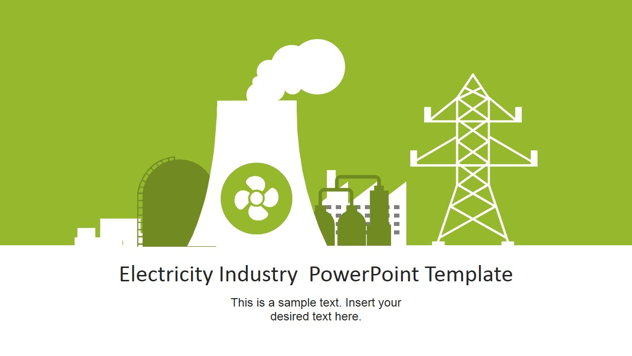 Nuclear power plant vector for electricity industry powerpoint nuclear power plant vector for electricity industry powerpoint ccuart Images