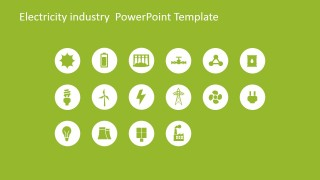 Clipart Gallery of Electrical Icons for PowerPoint