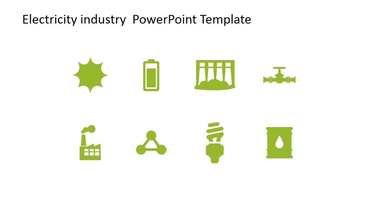 Electricity industry powerpoint template slidemodel powerpoint icons featuring energy toneelgroepblik Choice Image